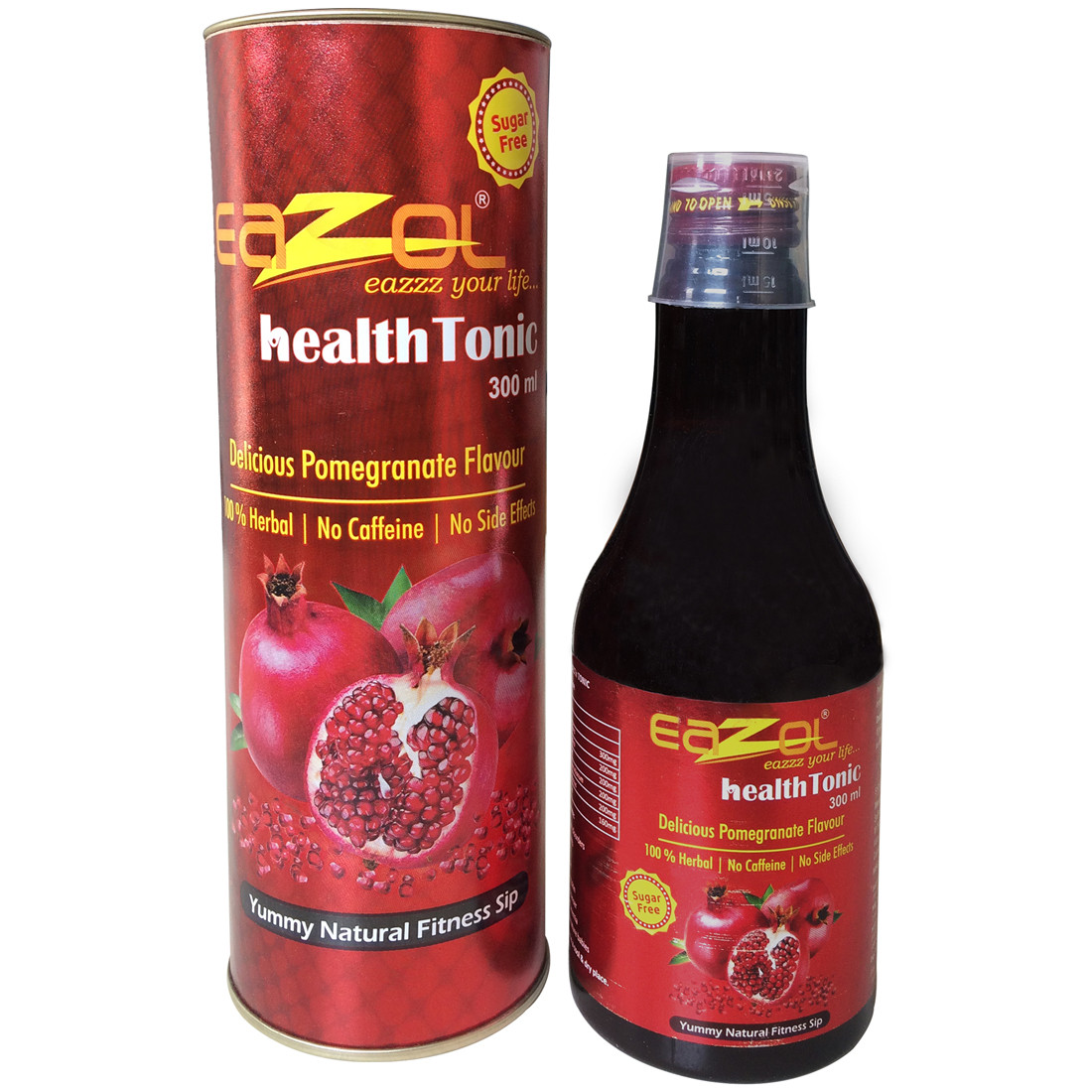 Eazol Ayurvedic Health Tonic Pomegranate Flavour 300ml